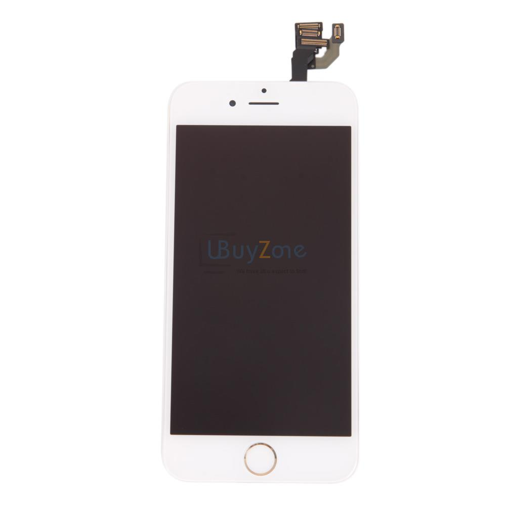 iphone home button on screen replacment for white iphone 6 assembly lcd display touch 9767